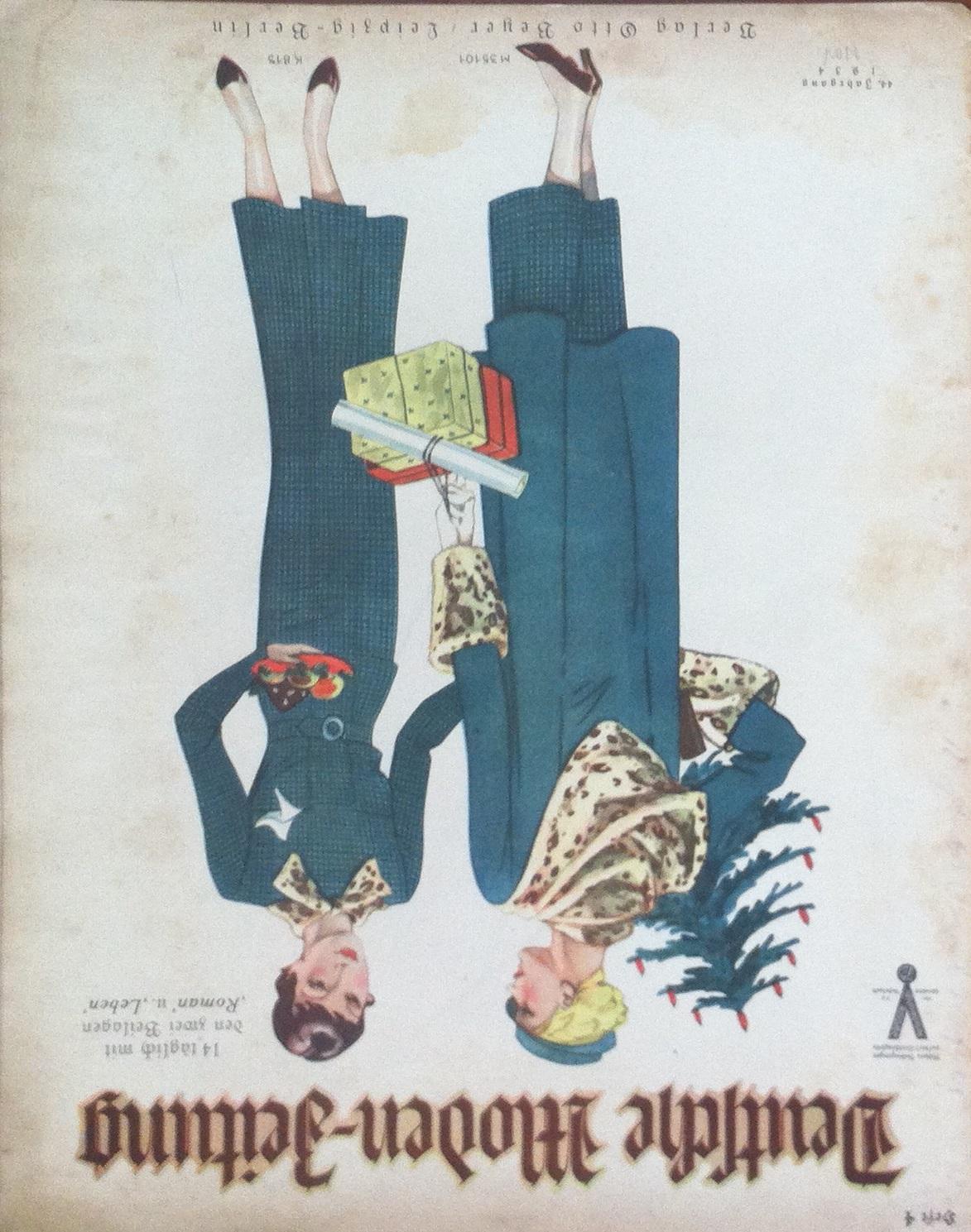 Deutsche Moden-Zeitung No. 4 Vol. 44 1934