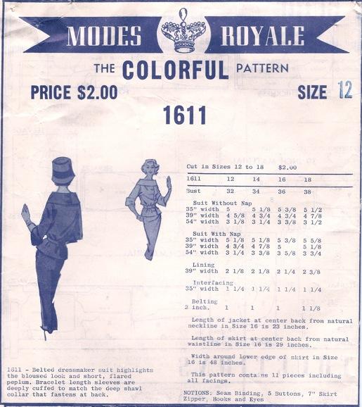 Modes Royale 1611