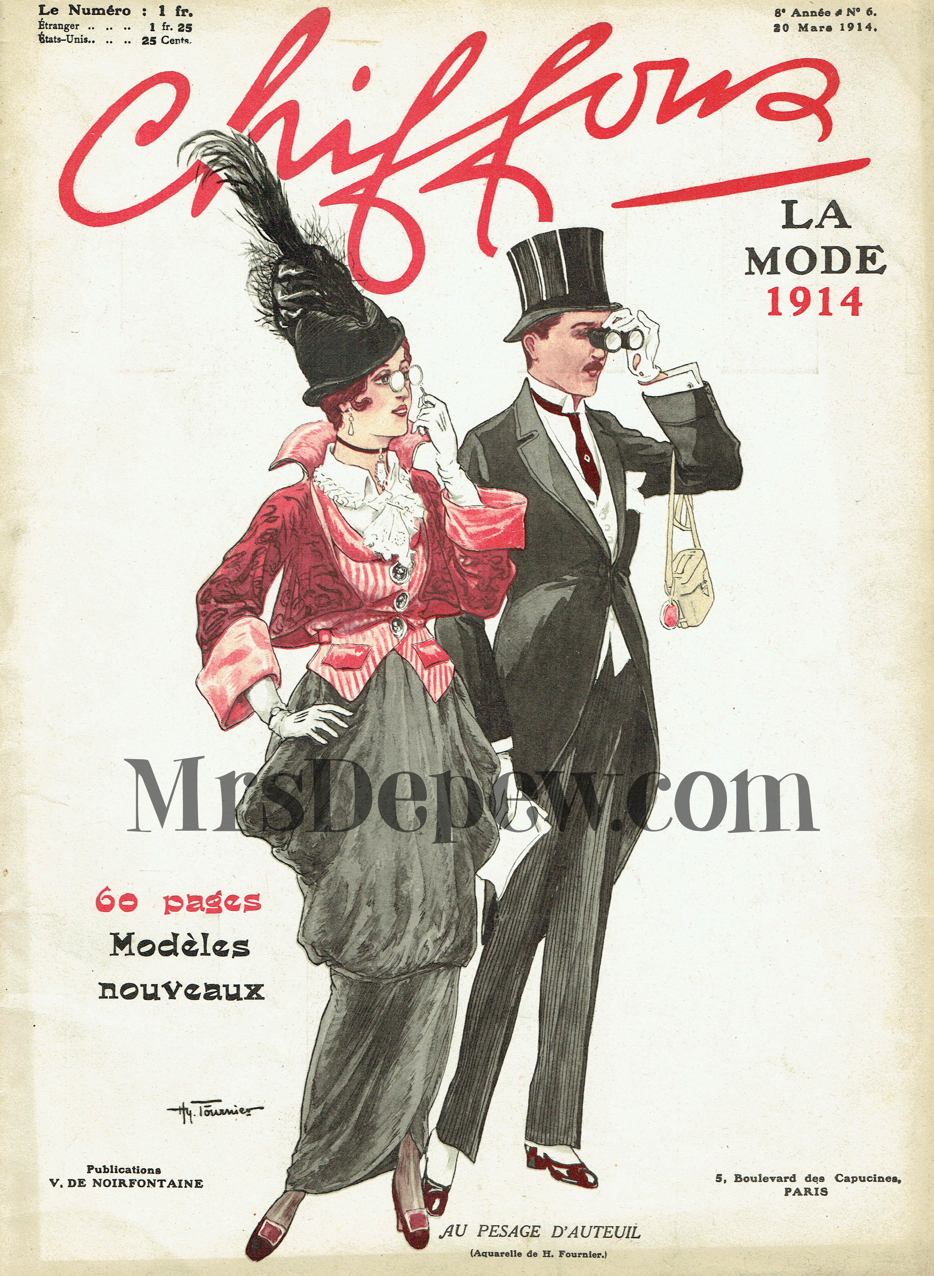 Chiffons March 1914