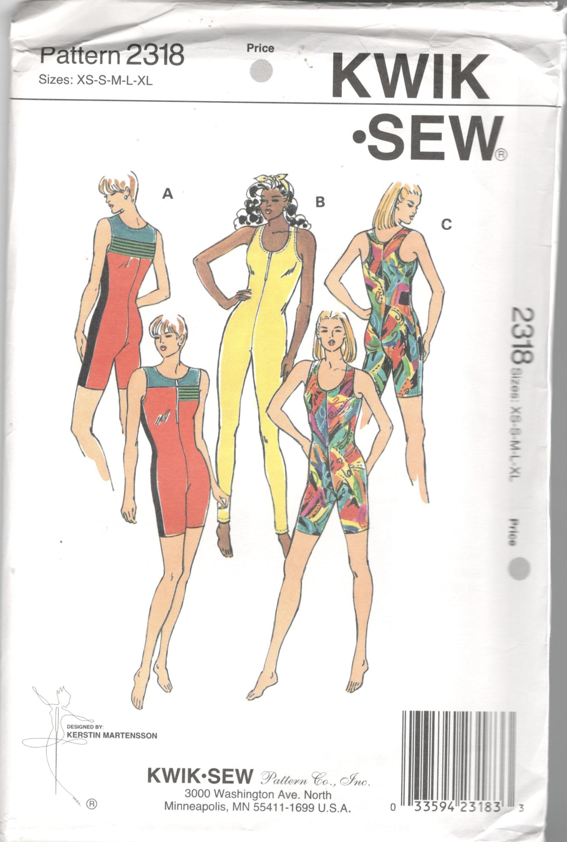 Kwik Sew 2318