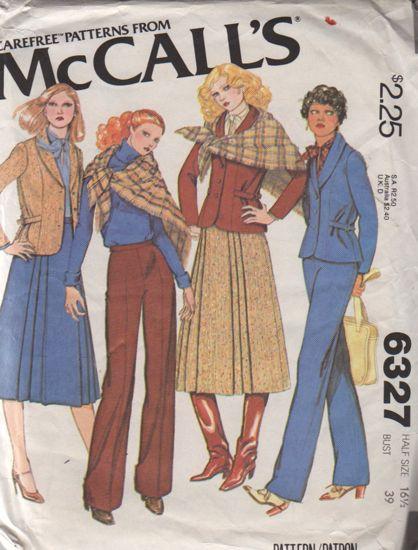 McCall's 6327