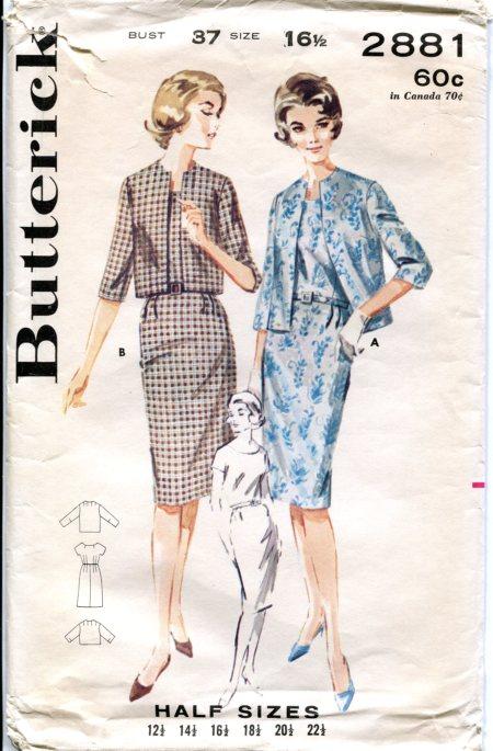 Butterick 2881 A