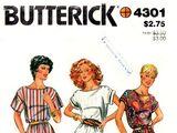 Butterick 4301 A
