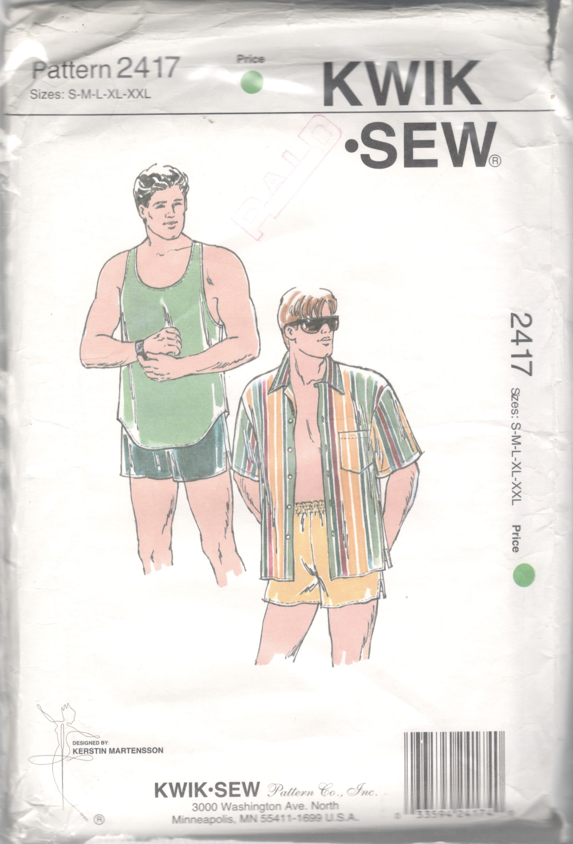 Kwik Sew 2417