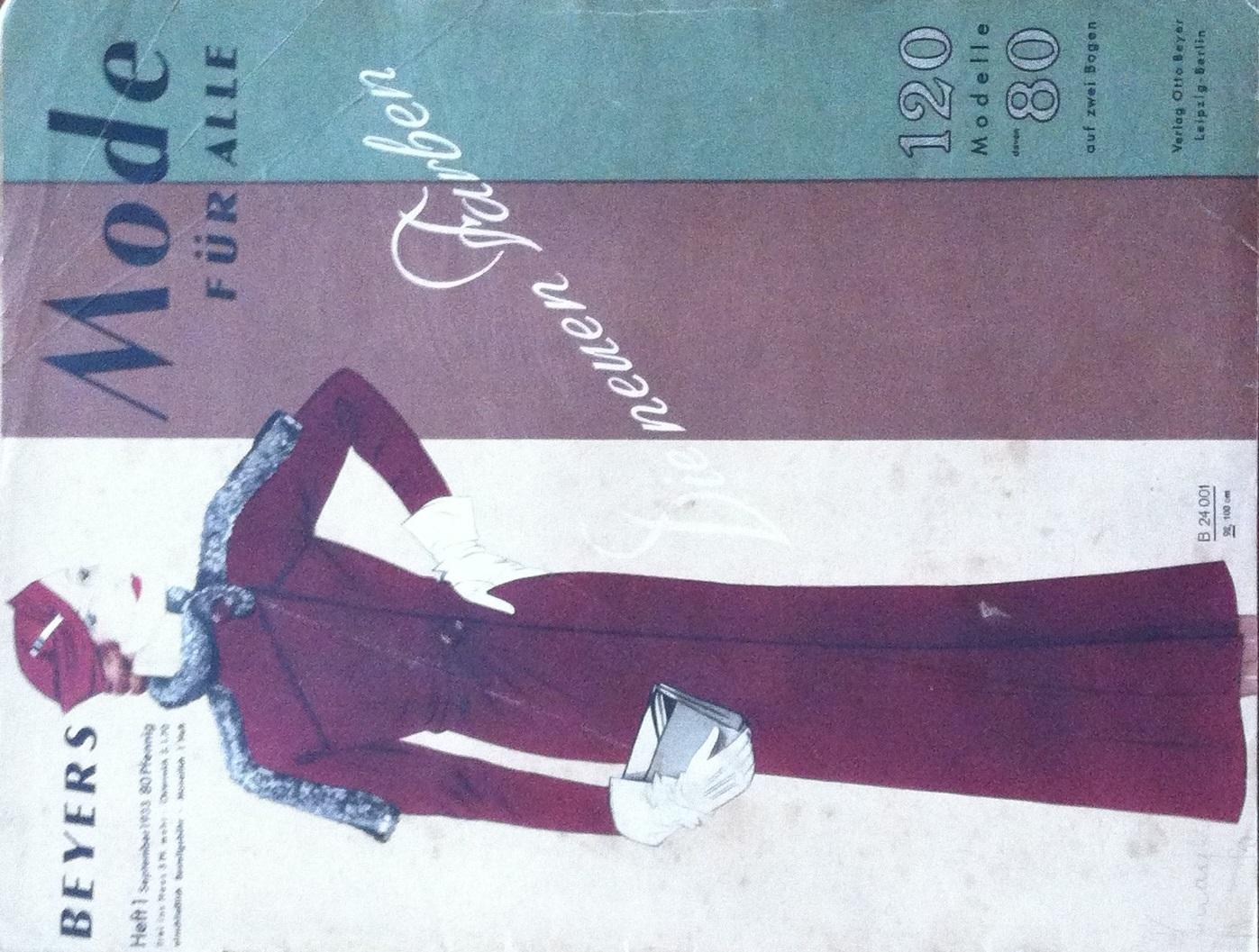 Beyers Mode für Alle No. 1 1933