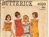 Butterick 4026 A