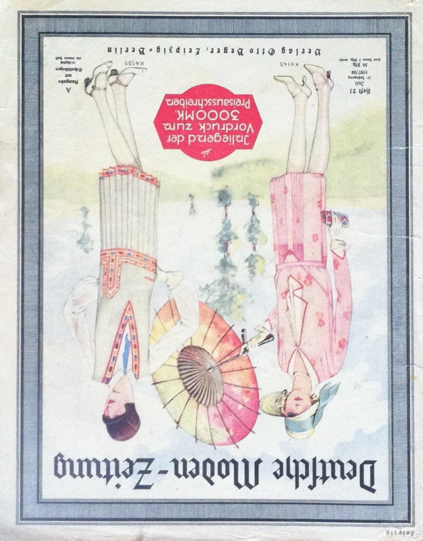 Deutsche Moden-Zeitung No. 21 Vol. 37 1927/28