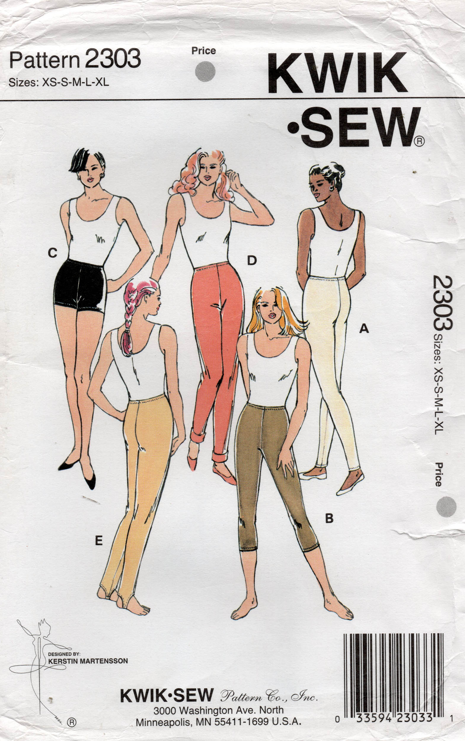 Kwik Sew 2303
