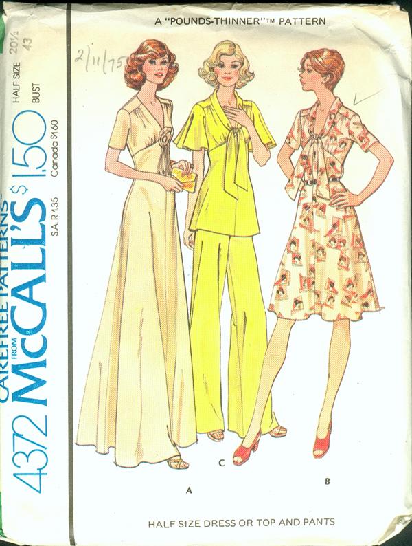 McCall's 4372