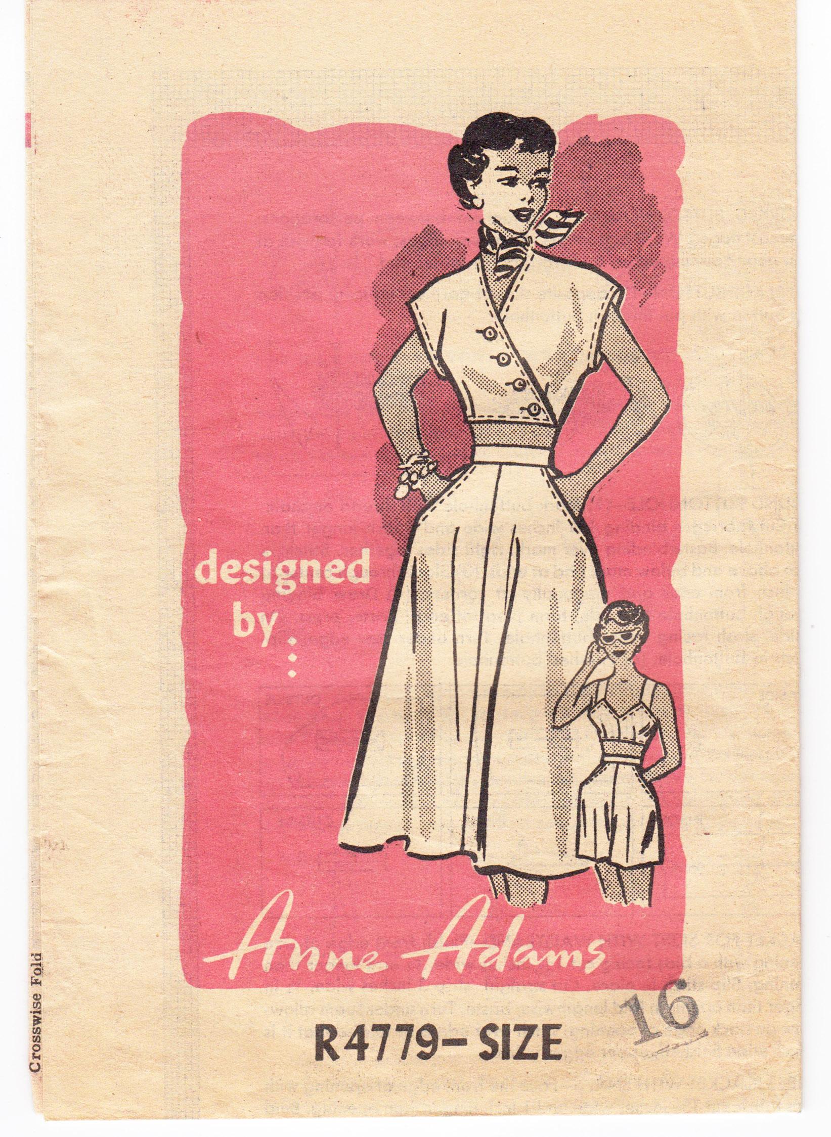 Anne Adams R4779