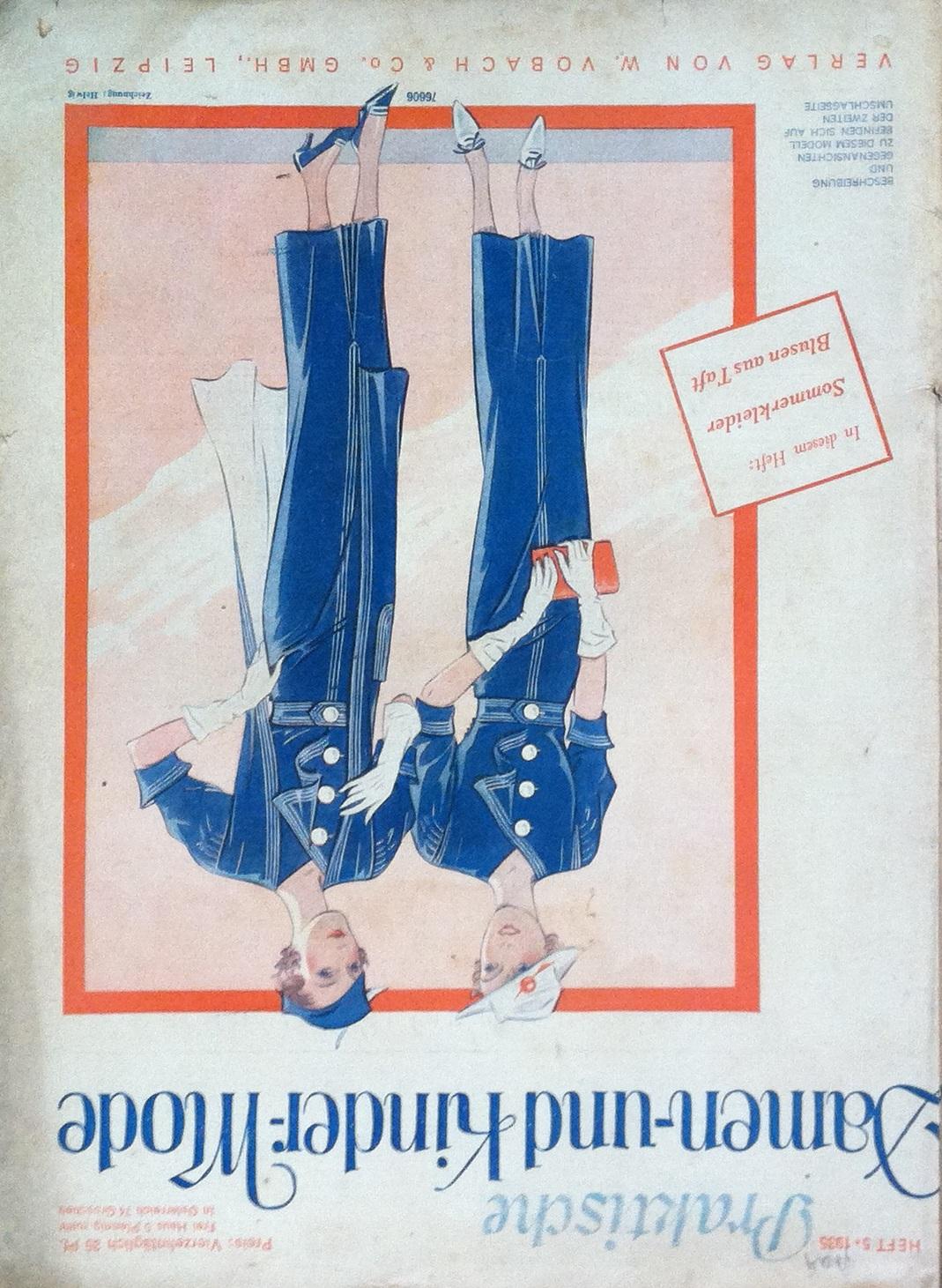 Praktische Damen- und Kinder-Mode No. 5 1935