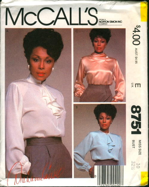 McCall's 8751 A
