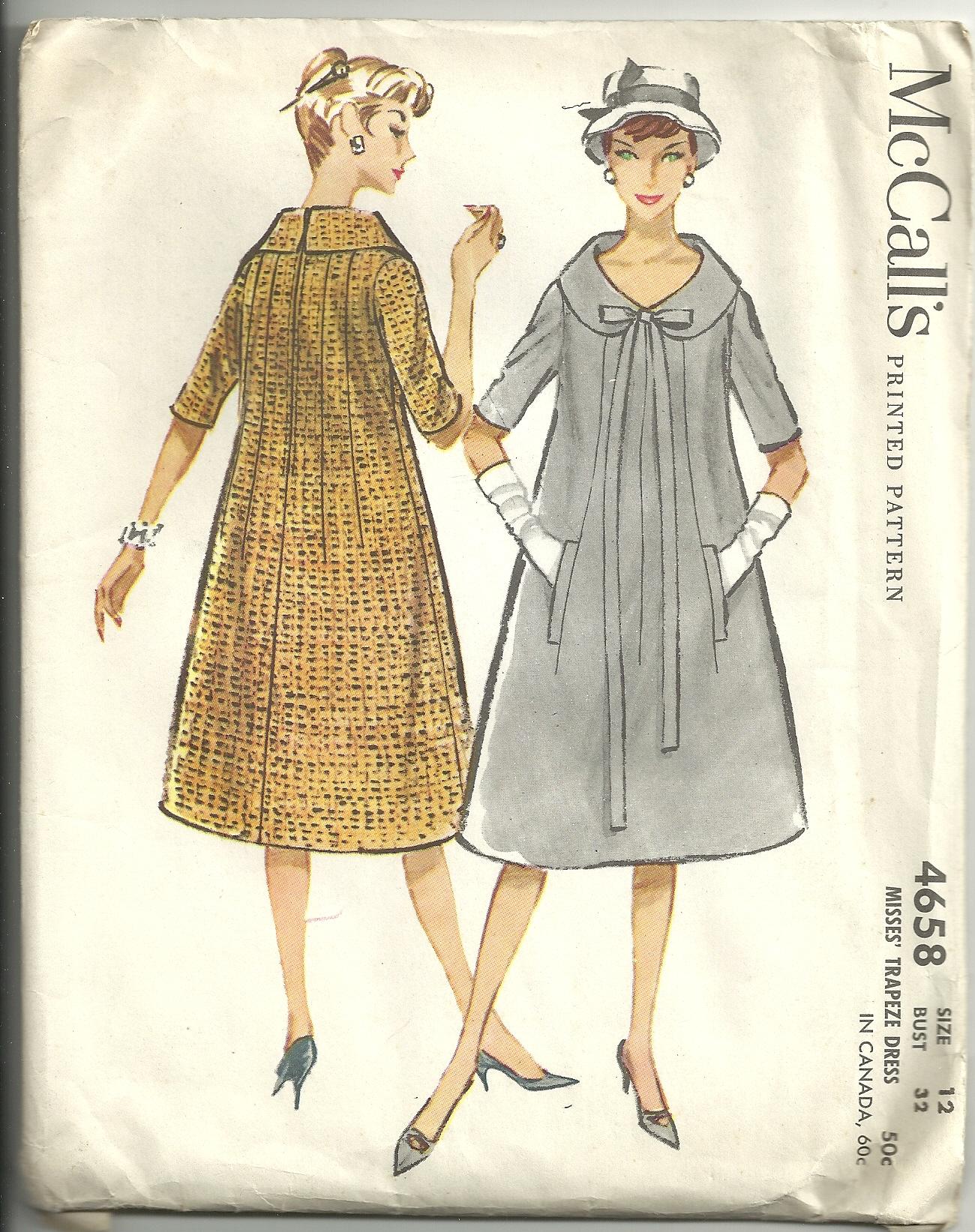 McCall's 4658 A