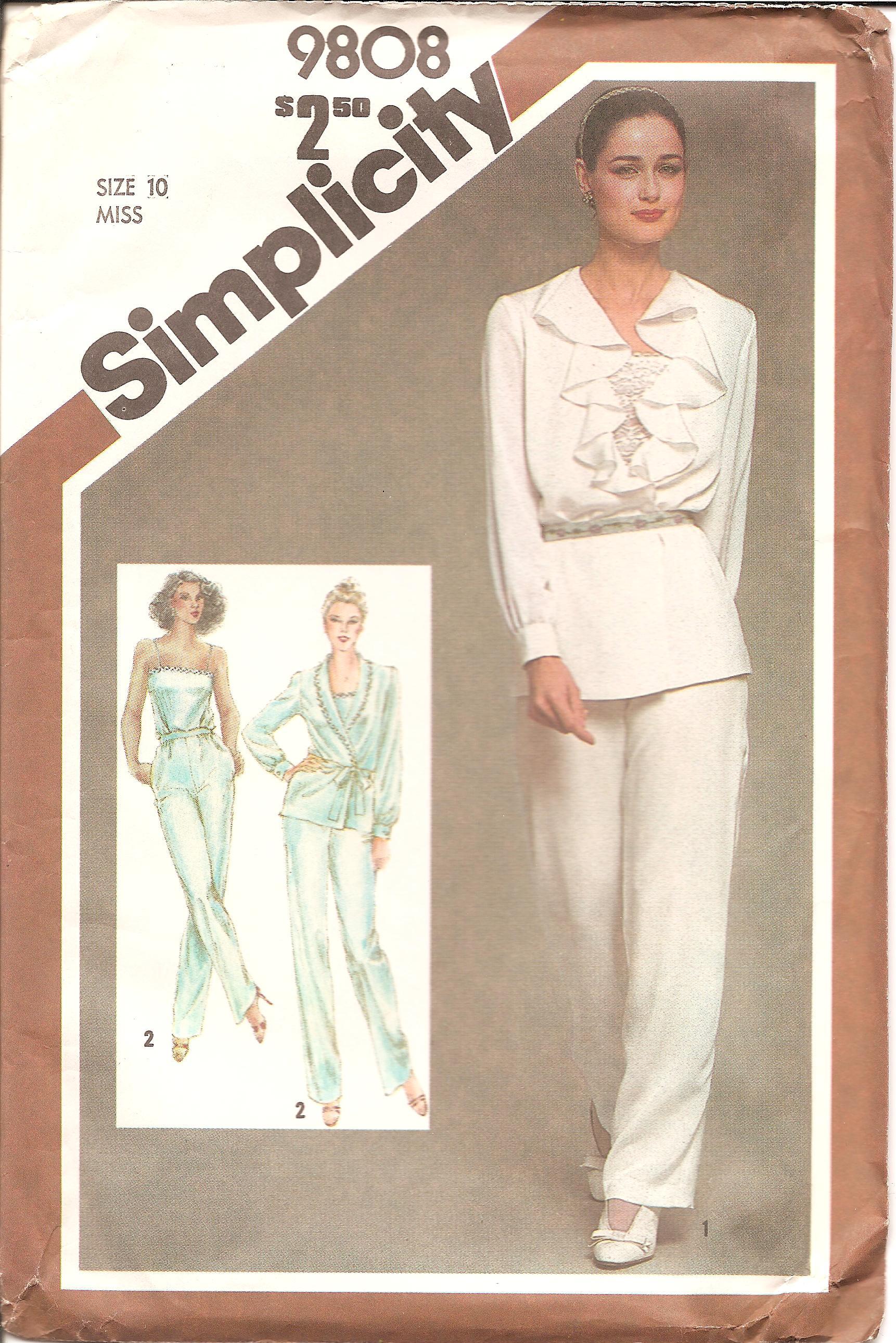 Simplicity 9808 A