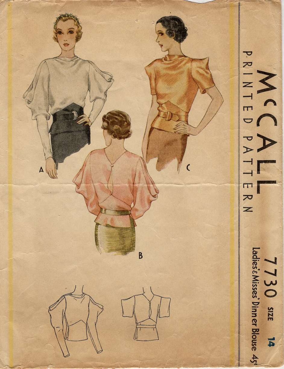 McCall 7730 A