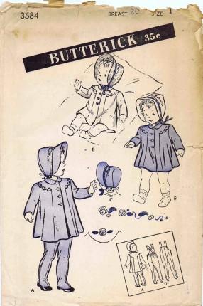 Butterick 3584 A