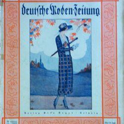 Deutsche Moden-Zeitung No. 24 Vol. 33 1924