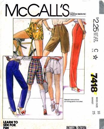 McCall's 7418 A