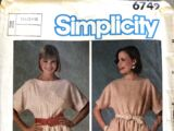 Simplicity 6749 B