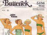 Butterick 5458 A