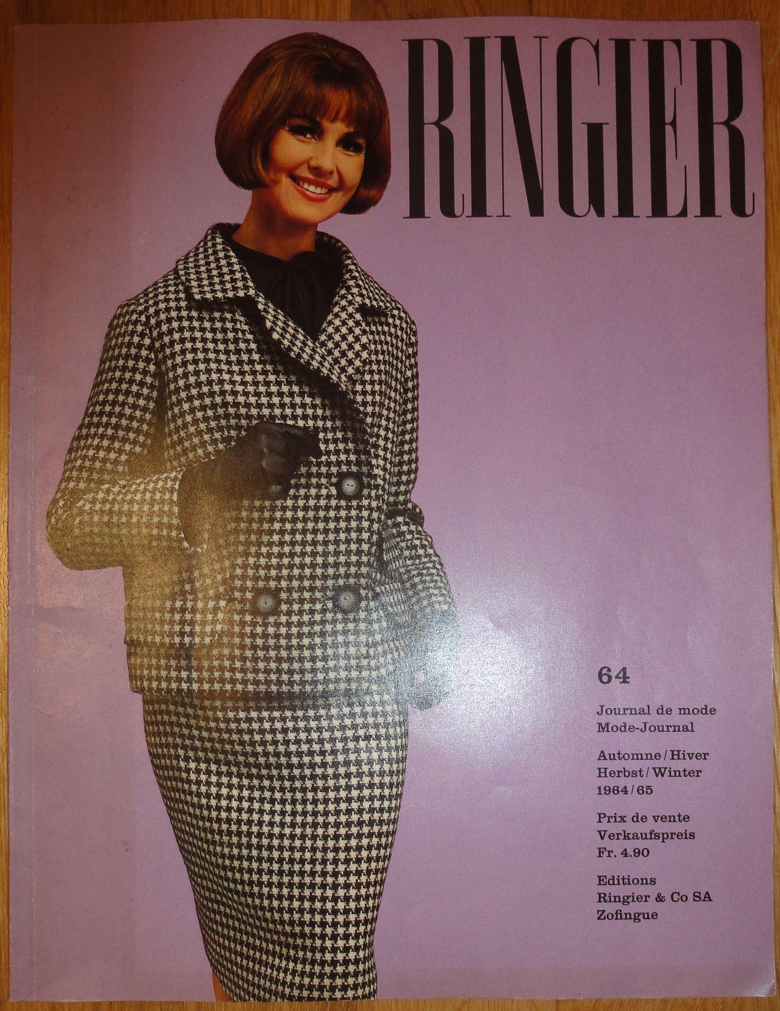 Ringier Journal de Mode Autumn/Winter 1964/65