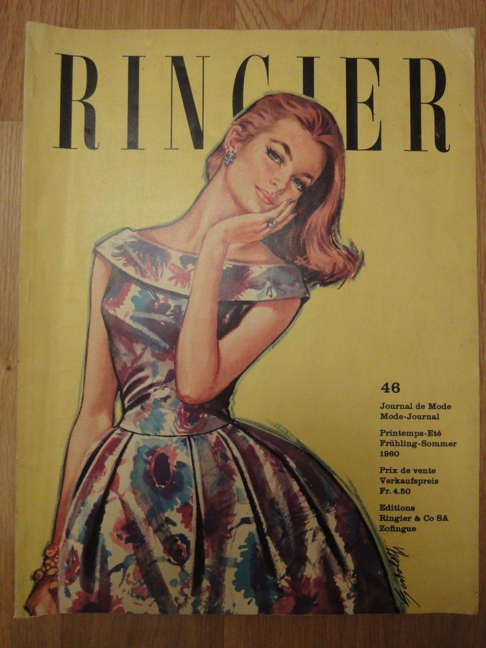 Ringier Journal de Mode Spring/Summer 1960