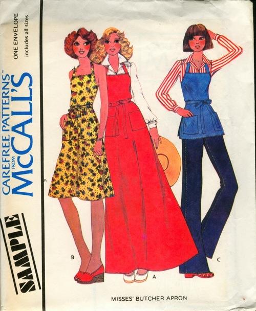 McCall's Sample Aprons B