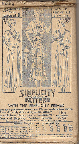 Simplicity 1011