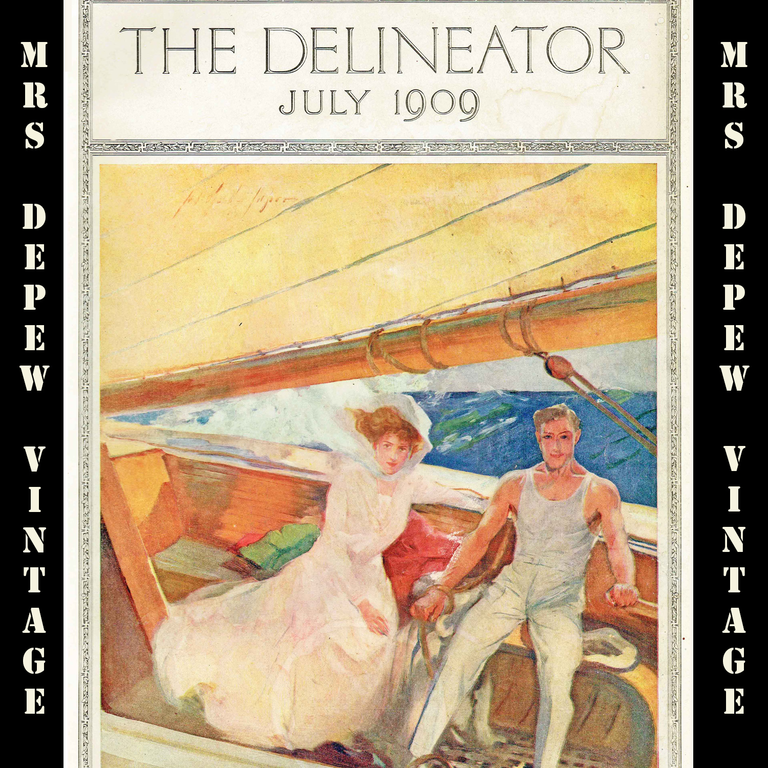The Delineator July 1909
