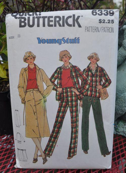 Butterick 6339 A