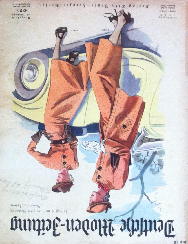 Deutsche Moden-Zeitung No. 10 Vol. 45 1936