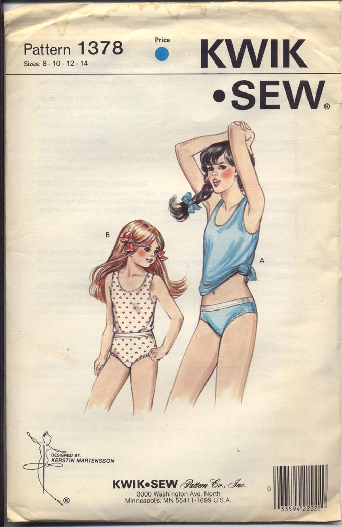Kwik Sew 1378