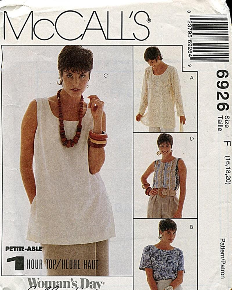 McCall's 6926 A
