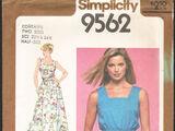 Simplicity 9562 A