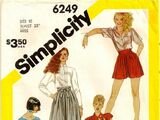 Simplicity 6249 B