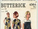 Butterick 4564 A