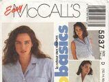 McCall's 5937 B