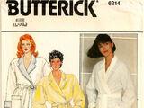 Butterick 6214 A
