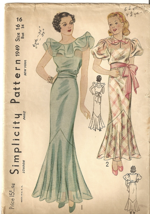 Simplicity 1949