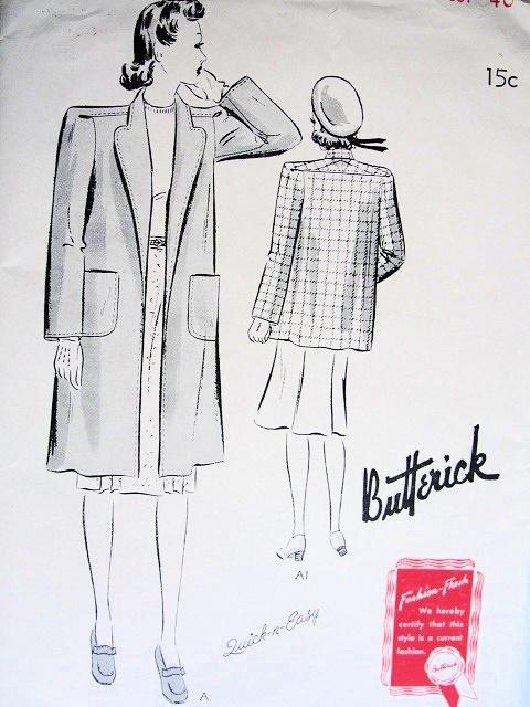Butterick 9323 A