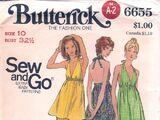 Butterick 6655 A
