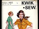 Kwik Sew 482