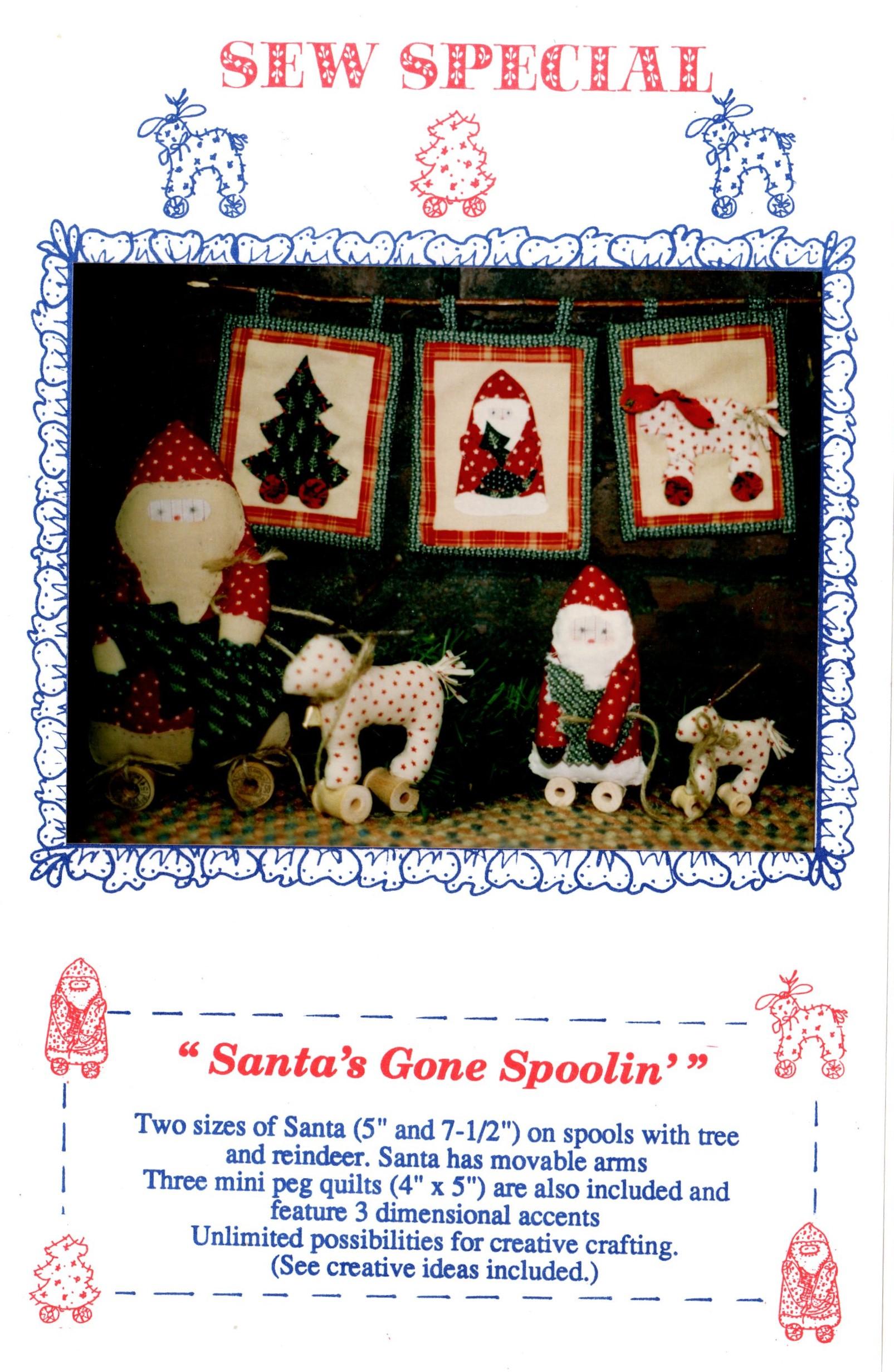 Sew Special Santa's Gone Spoolin'