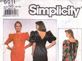 Simplicity 9911 B