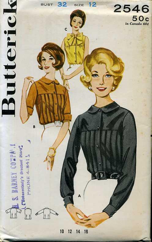 Butterick 2546