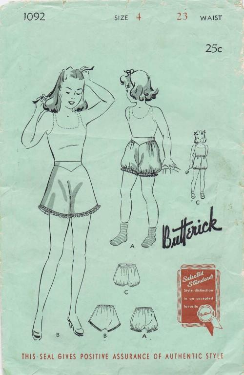 Butterick 1092