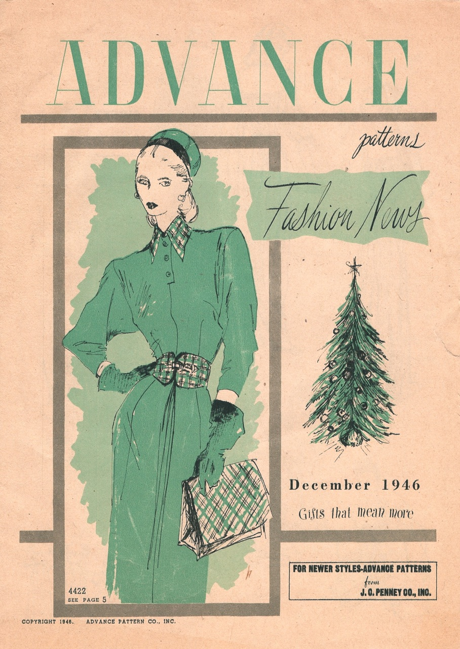 Advance Fashion News December 1946