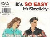 Simplicity 8262 C