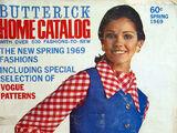 Butterick Home Catalog Spring 1969