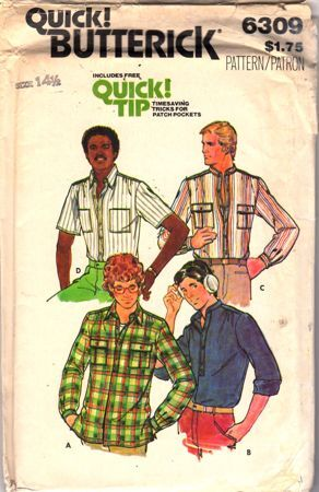 Teen Boy's Shirt and Detachable Collar